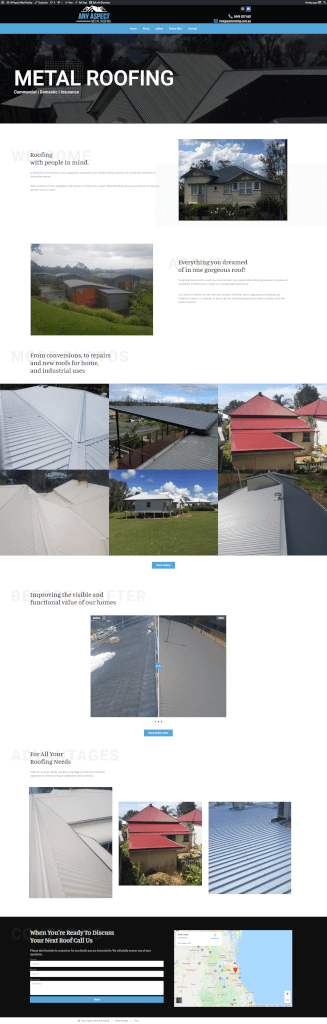 Any Aspect Metal Roofing